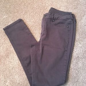 Maurices Gray Jeggings (NEW)